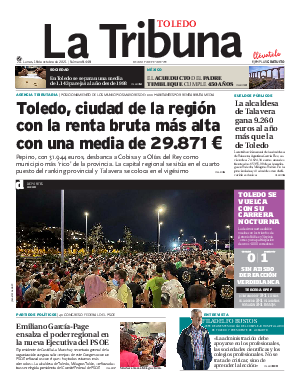 Portada La Tribuna de Toledo
